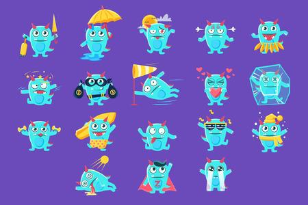 Blue Dragon Character Activities Set