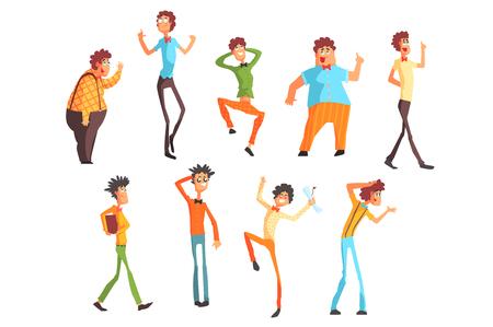 People Character Set Illustration