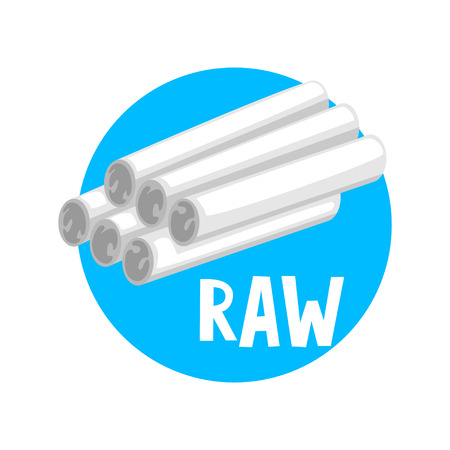 Processing of waste, raw material vector Illustration isolated on a white background.