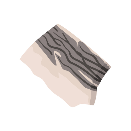 Stone, geological industry element vector Illustration on a white background Ilustração