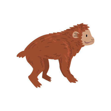 Ape, Monkey Animal Progress, Evolutionary Process of Woman Vector Illustration Фото со стока - 118649667