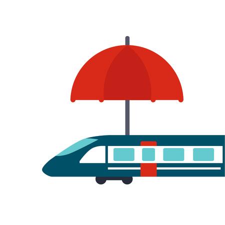 Travel Insurance Colourful Vector Illustration flat style Illustration