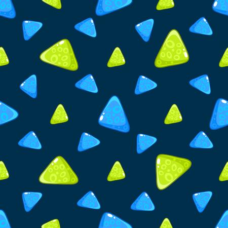Triangle Pattern. Vector Illustration Illustration