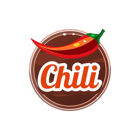 Chili Spice. Vector Illustration.