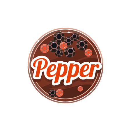 Pepper Spice. Vector Illustration. 写真素材 - 118744071