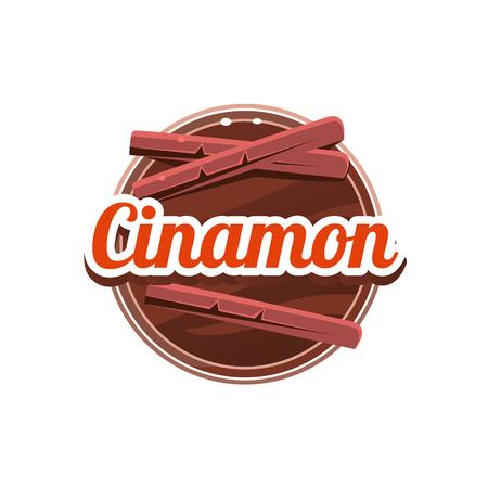 Cinamon Spice. Vector Illustration. Illustration