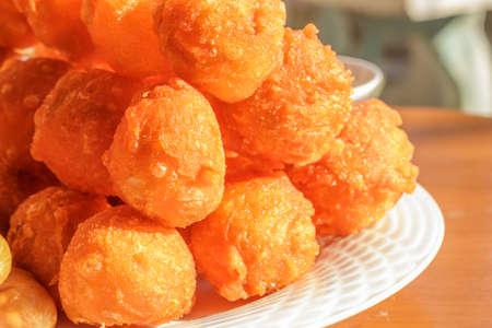 Fry meatballs Stock Photo - 16934661