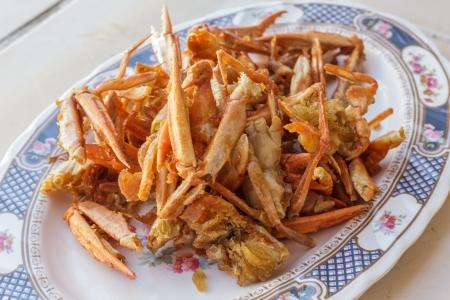 Fried crab photo