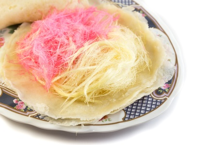 spun sugar: Cotton candy