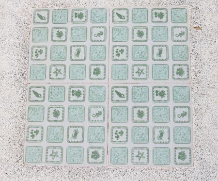 Checkerboard photo