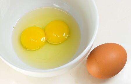 Raw eggs Stock Photo - 18347509