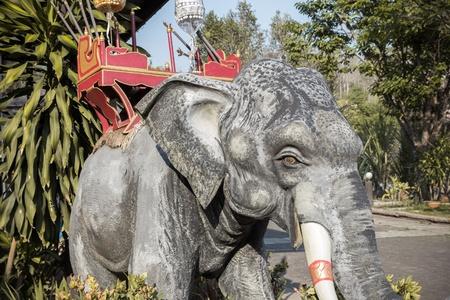 Elephant Statue beautiful in Thailand Stock Photo - 18963485
