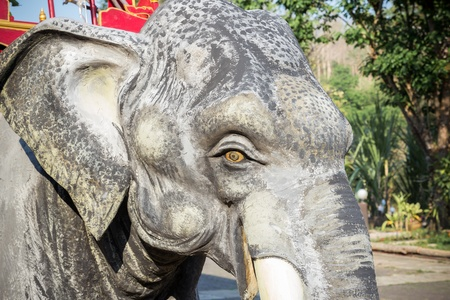Elephant Statue beautiful in Thailand Stock Photo - 18963487
