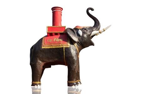 Elephant Statue beautiful in Thailand Stock Photo - 18963414