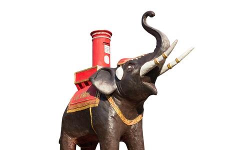 Elephant Statue beautiful in Thailand Stock Photo - 18963417