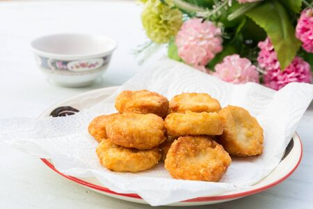 Chicken nugget food is delicious Stock Photo - 19018839