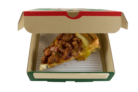 pizza is on a Food box photo
