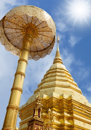 Significant relics in a Thailand photo