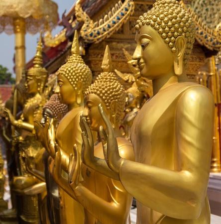Beautiful Buddha statue in Thailand photo