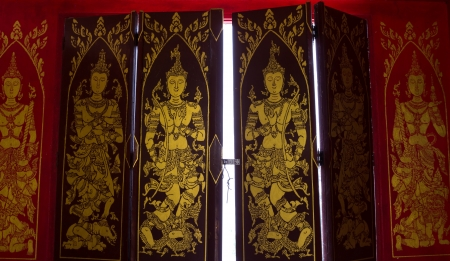The ancient and beautiful art of Thailand Stock Photo - 19778180