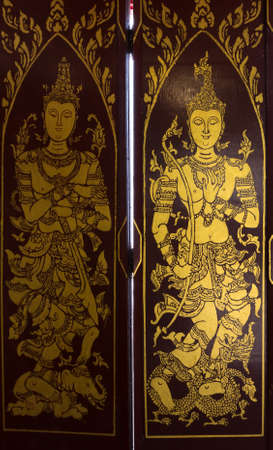 The ancient and beautiful art of Thailand Stock Photo - 19778178