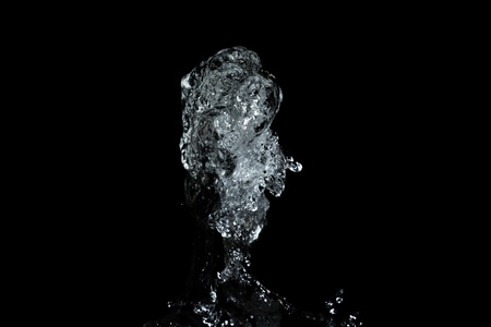 image of the water at stop motion photo