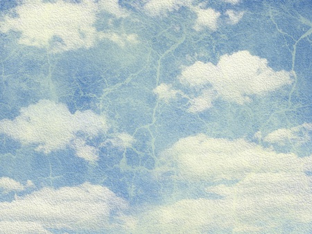 texture of the paper is sky and cloud image