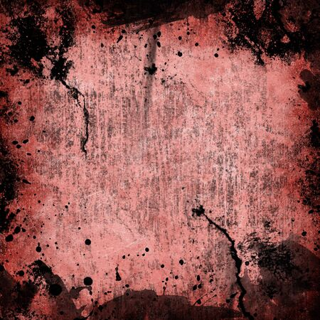 image of the red stain on balck blackground photo