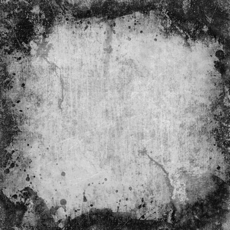 the image of the old paper texture is black white color Stock Photo