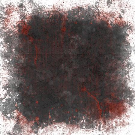 het beeld van het bloed op het papier