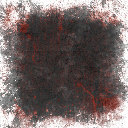 the image of blood on the paper