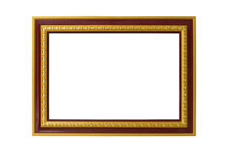 白の背景に画像フレーム 写真素材