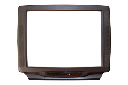 the old television screen photo