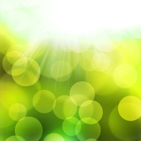 texture colorful bokeh light from sun for happy new year day, christmas and other event  Stock Photo