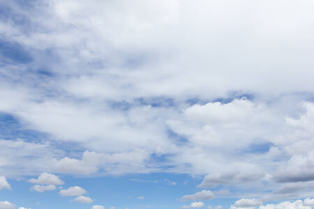 ozone: the background image of blue sky with clouds is nature