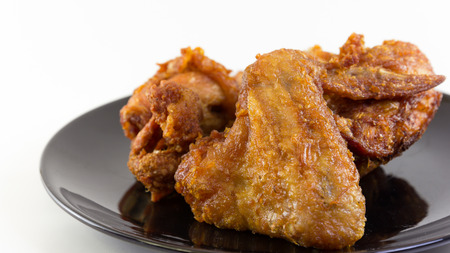 fried chicken is leg, wing and breast Stock Photo - 25228593