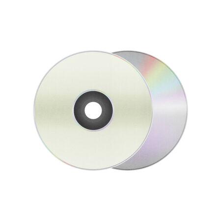 writable: the isolated paper cut of disc cd, dvd, blue-ray disk is record data technology for digital media in computer