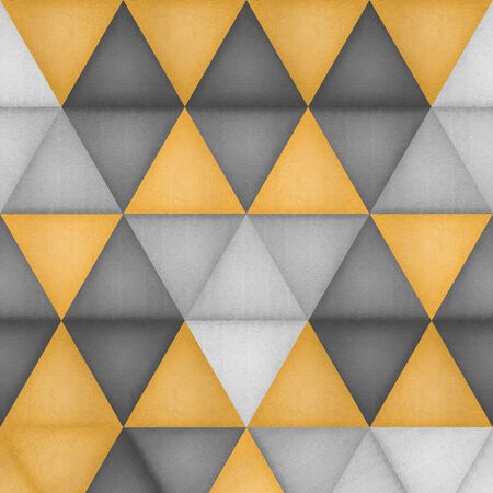 the paper cut of triangle pattern background is creative wallpaper for style modern photo