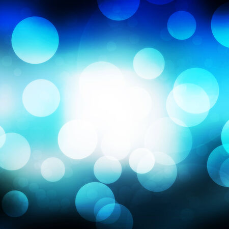 texture, abstract background is blue bokeh light is colorful for happy new year day, christmas and other event. photo