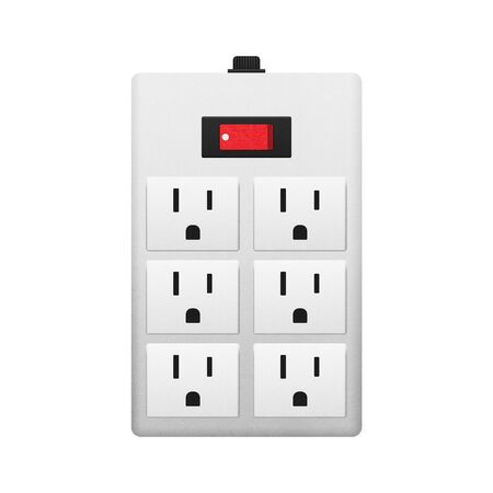 Electrical Outlet with Switch for Safety in the House