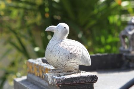 statuary garden: Bird figure