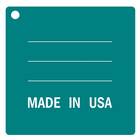 made in: America or USA tag Made in USA