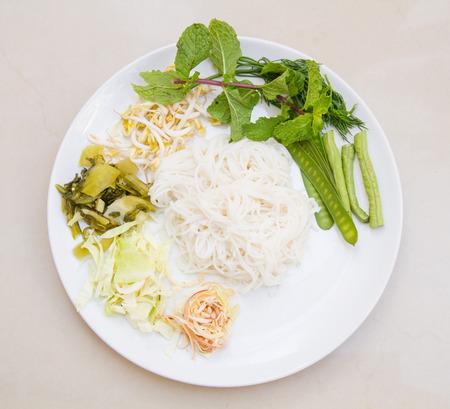 vermicelli: Rice vermicelli Stock Photo