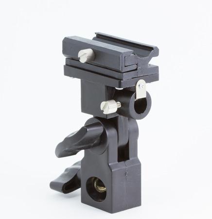 studio b: B-type Universal hot Flash Shoe Umbrella Holder Swivel Light Stand Bracket DSLR