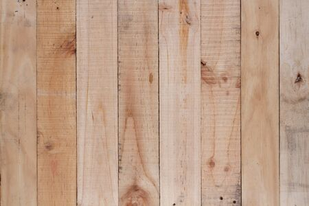 wood wall texture: Brown wood plank wall texture background. Stock Photo