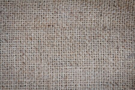 sackcloth: Natural sackcloth textured for background. Stock Photo