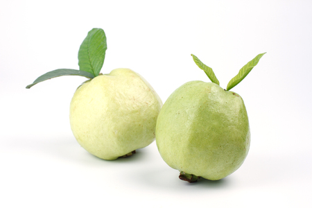 cu: Guava isolated on a white background,kim-cu
