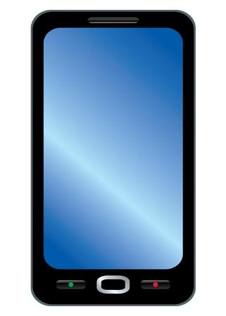 Simple generic smartphone