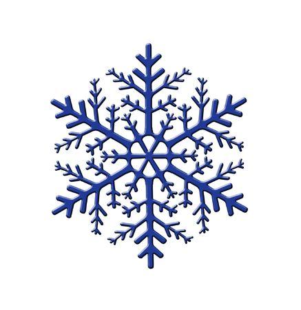 Decorative Snowflake photo