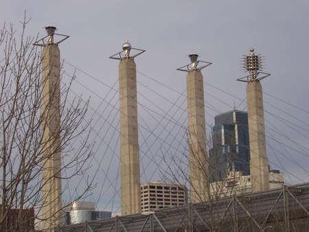 a portion of the skyline of kansas city